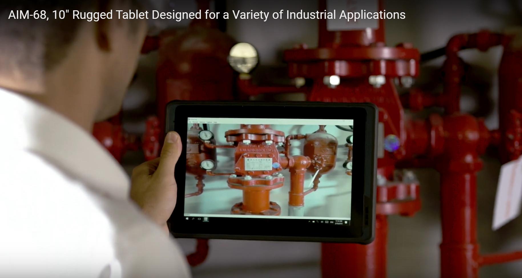 AIM-68 Advantech augmented reality